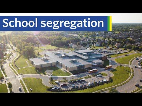How school boundaries segregate cities