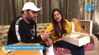 Kapil Sharma ने दिया शादी का कार्ड तो Singer Richa Sharma ने कुछ यूं दी बधाई