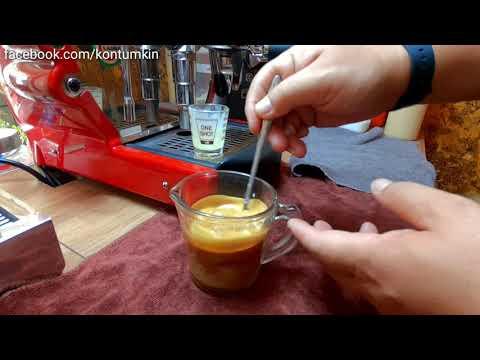 กาแฟสดเย็นแก้ว 16 ออนซ์ เป็นกาแฟที่ได้รสชาติหอมเข้มมากที่สุด