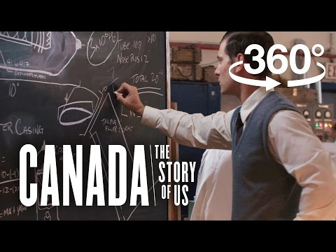 World War II: Canadian scientists decode a Nazi war machine (360 video) | Canada: The Story of Us