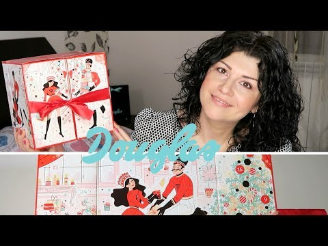 Unboxing Douglas Lovely Advent Calendar | ALIELA #aliela #calendareadvent2018 #douglas