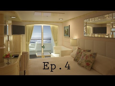 3ds Max Tutorial - Cruise Cabin 04 - Night Stand and Headboard