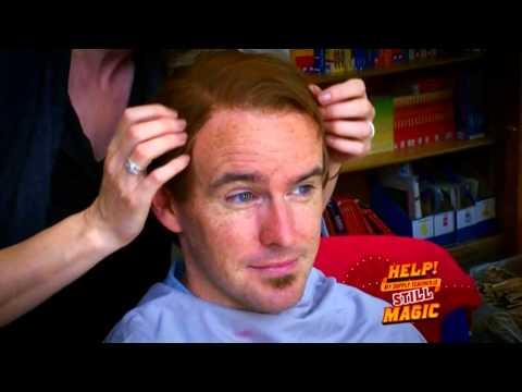Help My Supply Teacher is Still Magic - opening titles of amazing hidden camera magic show