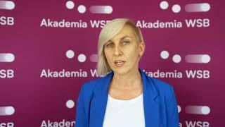 Ekonomia i filologia - wybierz perspektywiczne studia w Akademii WSB - poleca dr Sabina Ratajczak