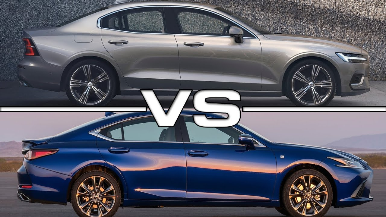 2019 volvo s60 vs 2019 lexus es technical specifications
