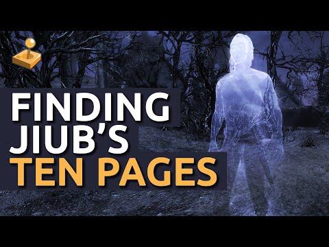 Skyrim Dawnguard Walkthrough - Finding Jiub's 10 Pages - Impatience of a Saint
