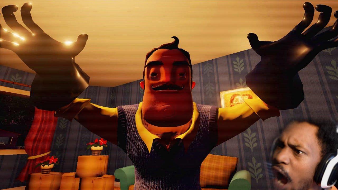WE BROKE INTO THE WRONG HOUSE | Hello Neighbor Gameplay ...