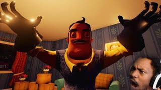 WE BROKE INTO THE WRONG HOUSE | Hello Neighbor Gameplay