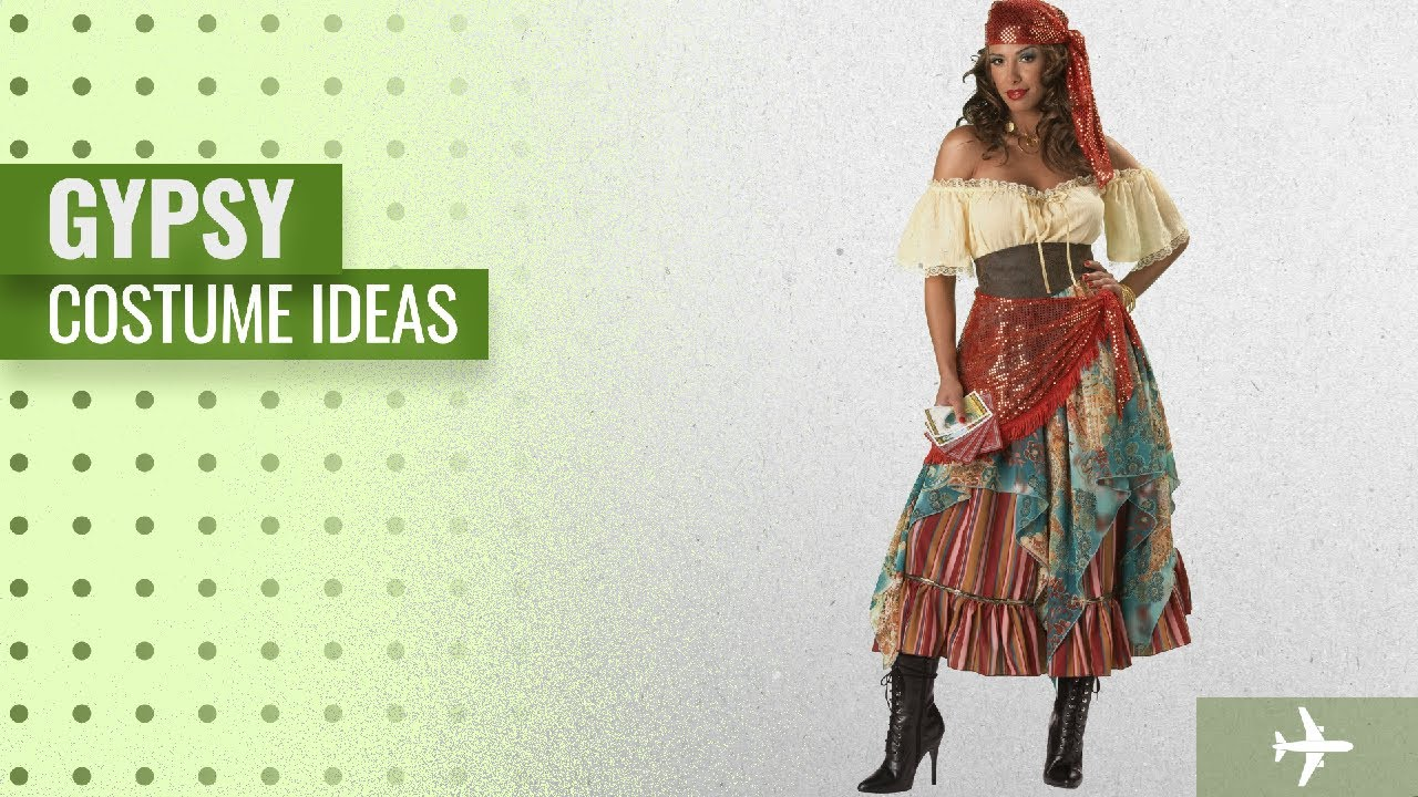 Top 10 Gypsy Costume Ideas For Halloween 2018 Incharacter Costumes Women S Fortune Teller Costume