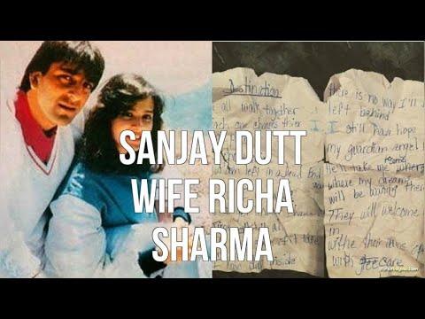 Sanjay Dutt Wife Richa Sharma