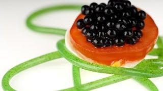 Molecular Gastronomy - Balsamic Vinegar Pearls