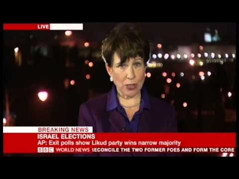 BBC 2013 Israel Election Coverage with MK Dr. Einat Wilf