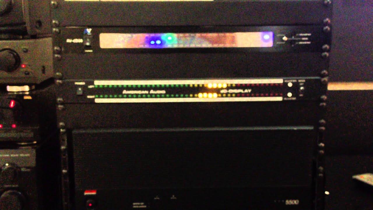 American Audio Db Amp Amerca Vocal Db60 Youtube