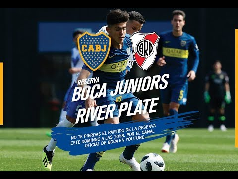 Reserva: Boca - River, por streaming