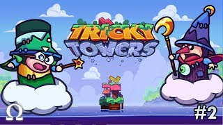 THAT SQUIRREL IS NUTS! | Tricky Towers #2 Funny Moments Ft. Cartoonz, Squirrel
