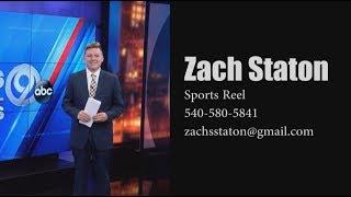 Zachary Staton Sports Reporter/Anchor Resume Reel