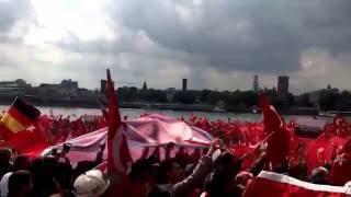 hymne   demo pro erdogan   dpe 04 kln   uğur ışılak yeniden diriliş   deutzer werft koeln3107