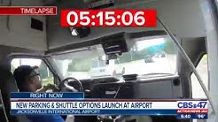 New parking & shuttle options launch at airport