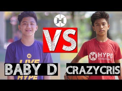 Baby D vs Crazycris 2
