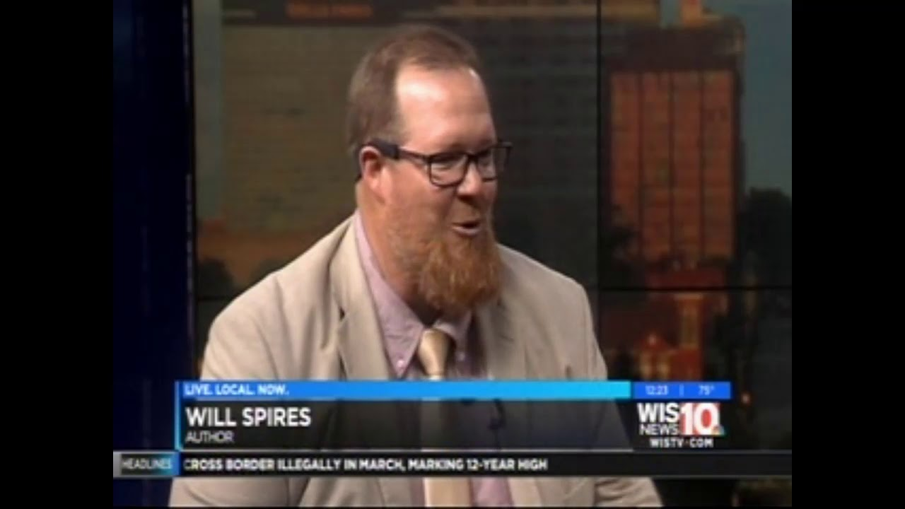 T S  44 The Button Tree Prophet Author Will Spires on Talk of The Town WIS  TV in Columbia, SC
