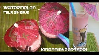 Watermelon Milkshake (by Kheri)