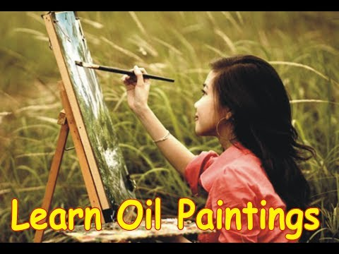 How to Oil Paint, FREE Oil Painting lesson with wajdan artist, speed video