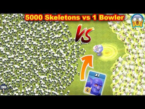 Max Bowler Attack Clash of Clans | Clash of clans Private Server | COC Glitch