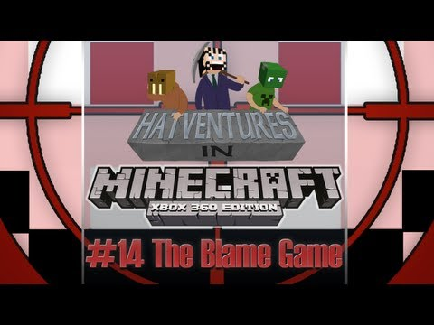 Minecraft 1.8.2 XBLA #14 - The Blame Game +NEW Chase Song!