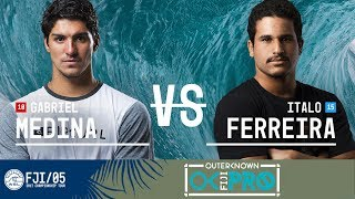 Gabriel Medina vs. Italo Ferreira - Round Three, Heat 4 - Outerknown Fiji Pro 2017