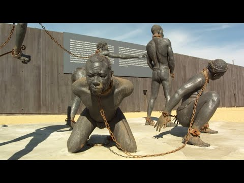 The sculpture of slavery