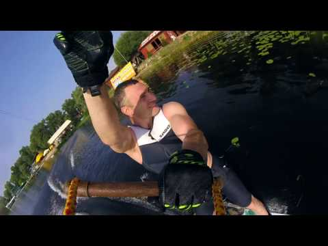 Vitali Klitschko wakeboarding