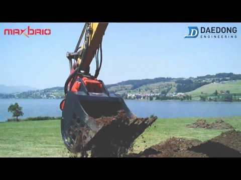 Maxbrio Vibro Bucket DVB35 Switzerland