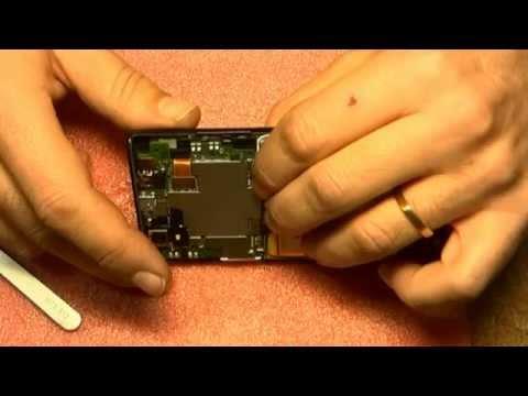 Reparar cambiar pantalla lcd táctil huawei ascend p2 repair screen disassemble