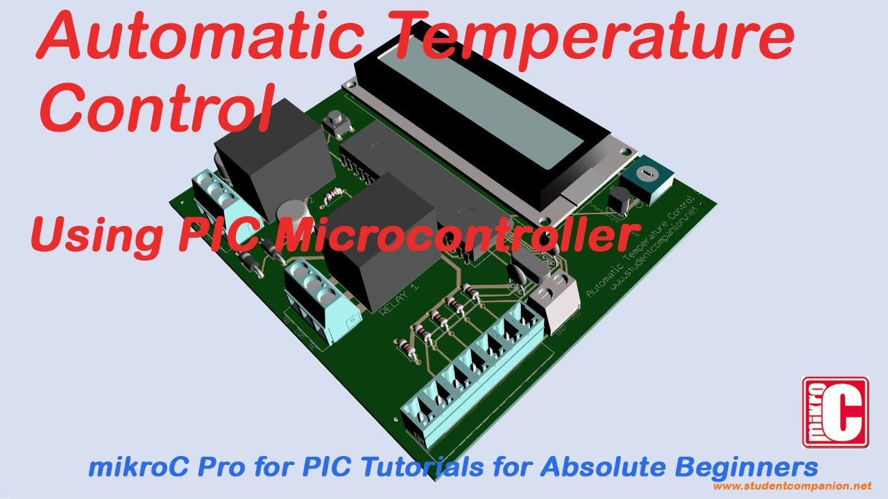 Automatic Temperature Control with PIC Microcontroller