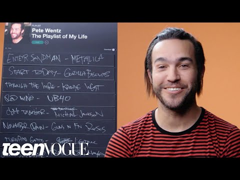 Pete Wentz's Top 9 Songs That Changed His Life | Teen Vogue