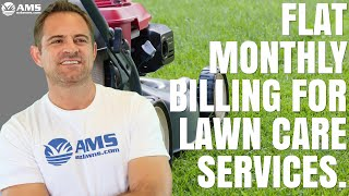 Flat Monthly Billing For Lawn Care Services