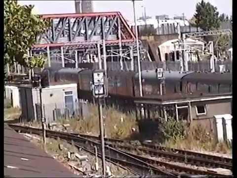 Classic British Rail  -  Old Oak Common - 05th August 1996