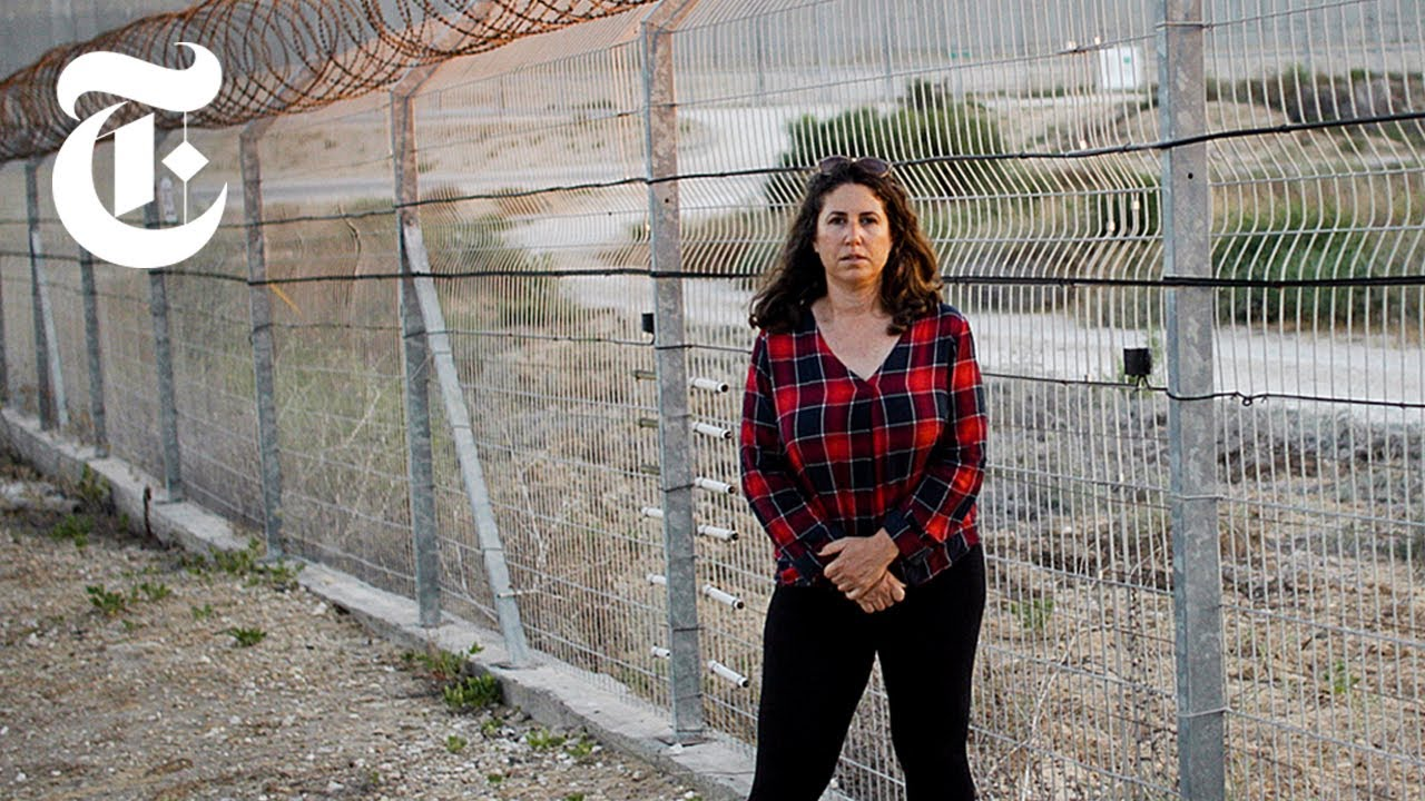 """For the New York Times """"Anxiety on the Gaza/Israel border""""."""