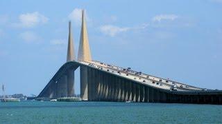 Sunshine Skyway Bridge (Drive) Tampa Bay, Florida