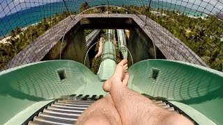 Atlantis Aquaventure - The Surge (Master Blaster Ride) Nassau, Bahamas