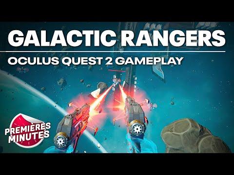 Galactic Rangers VR - Gameplay PC VR (Oculus Rift, HTC Vive, Valve Index) |