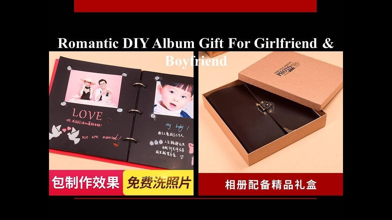 Romantic Diy Album Gift For Girlfriend Boyfriend Others Best