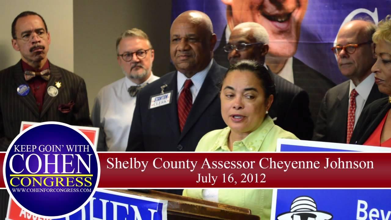 Shelby County Assessor Cheyenne Johnson And Clerk Ed Stanton Jr