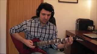 Megadeth - Moto Psycho -  Guitar Cover