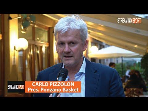 Carlo Pizzolon Presidente del Ponzano Basket venerdì 28 maggio 2021