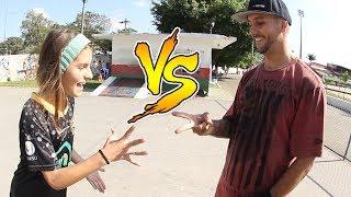 PAI vs FILHA! Game of Skate