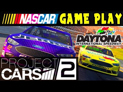 PROJECT CARS 2 GAMEPLAY: NASCAR AT DAYTONA 500! LIVE STREAM with CHAT!