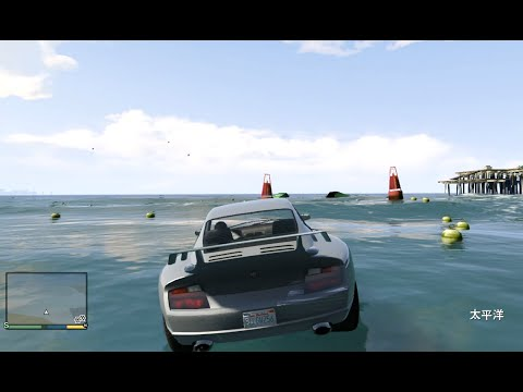 GTA5 実況】 太平洋を車で横断 ...
