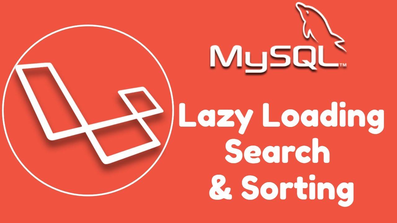 Laravel REST API Tutorial - Custom Pagination, Search & Sorting using MySQL