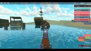 ROBLOX: Consegui uma ak-47 (Whatever Floats Your Boat)